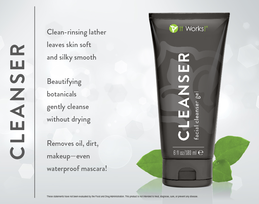 It Works Cleanser Gel - Skincare Products