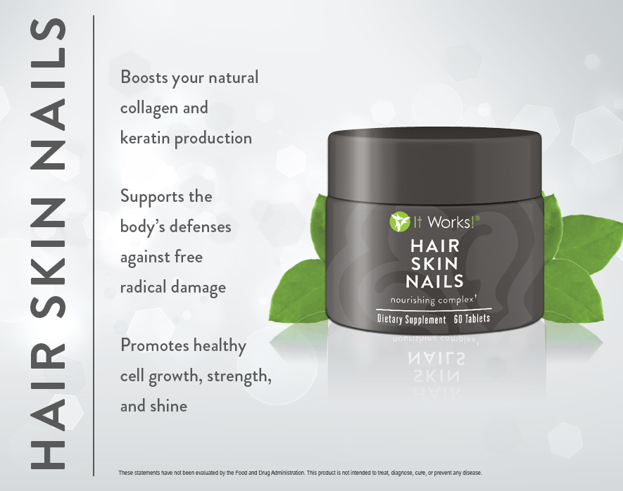 It Works Hair Skin Nails - Skincare Products